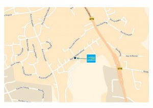 Plan d'accès Spadium Lesneven