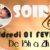 SOIREE ZEN – VENDREDI 1ER FEVRIER